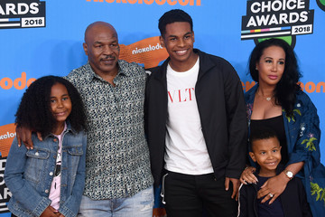 Mike Tyson Nickelodeon's 2018 Kids' Choice Awards - Arrivals