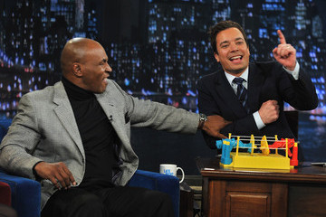 "Mike Tyson Celebrities Visit ""Late Night With Jimmy Fallon"" - March 2, 2011"