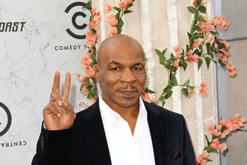 Mike Tyson Comedy Central Roast Of Charlie Sheen - Arrivals