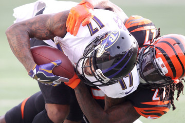 Mike Wallace Baltimore Ravens v Cincinnati Bengals