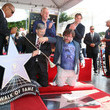 Mike White Jack Black Honored With Star On The Hollywood Walk Of Fame