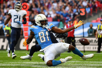 Mike Williams Tennessee Titans vs. Los Angeles Chargers