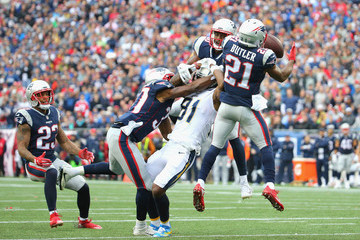 Mike Williams Los Angeles Chargers vNew England Patriots