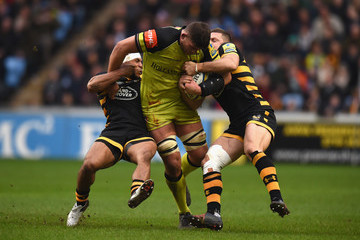 Mike Williams Wasps v Leicester Tigers - Aviva Premiership