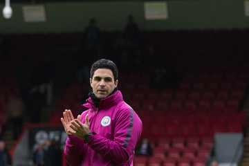 Mikel Arteta Crystal Palace v Manchester City - Premier League