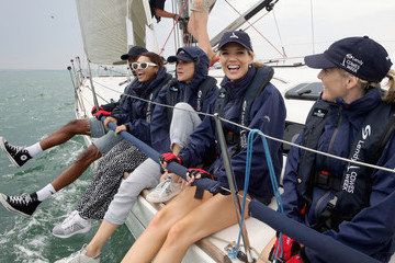 Mikey Abegunde Lendy Cowes Week - Ladies Day