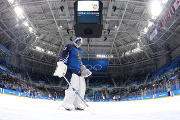 Mikko Koskinen Ice Hockey - Winter Olympics Day 7