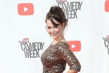 Milana Vayntrub Arrivals at 'The Big Live Comedy Show'