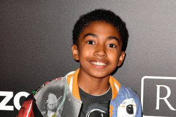 Miles Brown The World Premiere of 'Rogue One: A Star Wars Story'