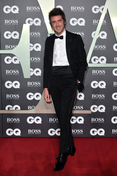 GQ Men Of The Year Awards 2019 - Red Carpet Arrivals [suit,clothing,formal wear,tuxedo,carpet,red carpet,premiere,pantsuit,tie,flooring,red carpet arrivals,miles kane,gq men of the year awards,england,london,tate modern]