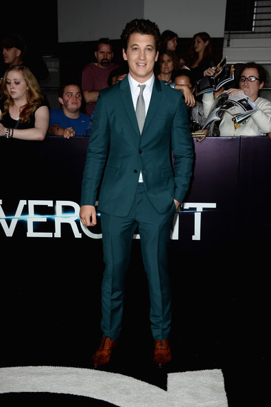 "Miles Teller - Premiere Of Summit Entertainment's ""Divergent"" - Arrivals"