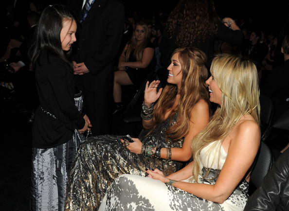 Miley Cyrus Actress Miley and Tish Cyrus attend The 53rd Annual GRAMMY Awards held at Staples Center on February 13, 2011 in Los Angeles, California.