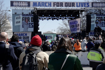 Miley Cyrus Hundreds Of Thousands Attend March For Our Lives In Washington DC