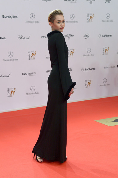 Miley Cyrus - Arrivals at the Bambi Awards