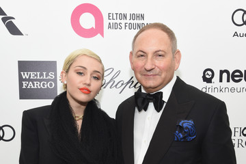 Miley Cyrus Arrivals at the Elton John AIDS Foundation Oscars Viewing Party — Part 3