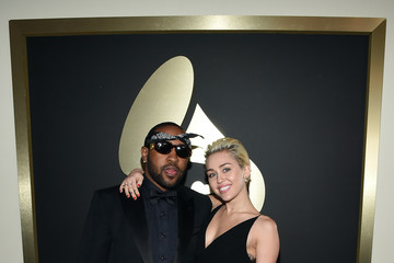 Miley Cyrus Mike WiLL Made It The 57th Annual GRAMMY Awards - Red Carpet