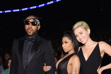 Miley Cyrus Mike WiLL Made It The 57th Annual GRAMMY Awards - Backstage