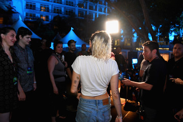 Miley Cyrus iHeartSummer '17 Weekend By AT&T, Day 2 - Backstage