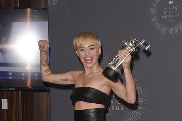 Miley Cyrus MTV Video Music Awards Press Room