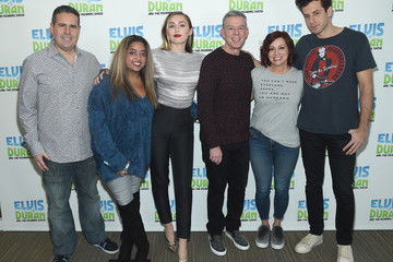 Miley Cyrus Miley Cyrus Visits 'The Elvis Duran Z100 Morning Show'