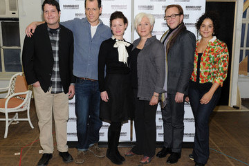 """Curtis Billings """"The Milk Train Doesn't Stop Here Anymore"""" Cast Photo Call"""