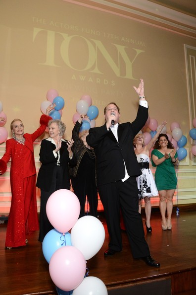 Arrivals at the Tony Awards Viewing Party