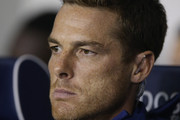 Scott Parker, first team coach of Fulham looks on prior to the Carabao Cup Third Round match between Millwall and Fulham at The Den on September 25, 2018 in London, England.