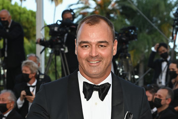 """Milutin Gatsby """"OSS 117: From Africa With Love"""" Final Screeing & Closing Ceremony Red Carpet - The 74th Annual Cannes Film Festival"""