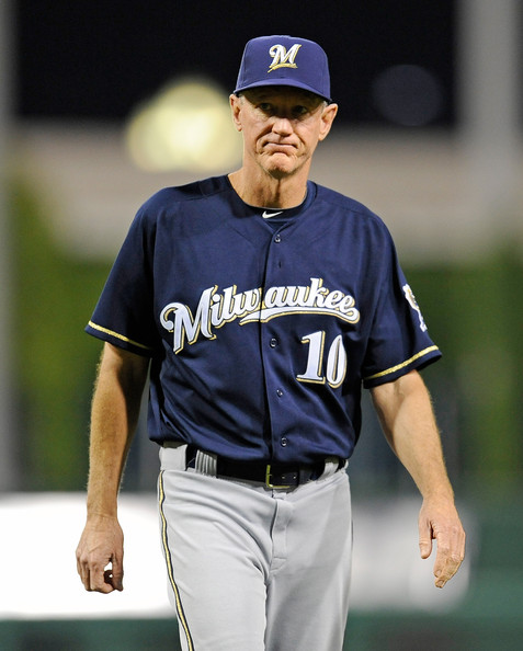 Milwaukee Brewers V Pittsburgh Pirates: Ron Roenicke In Milwaukee Brewers V Pittsburgh Pirates