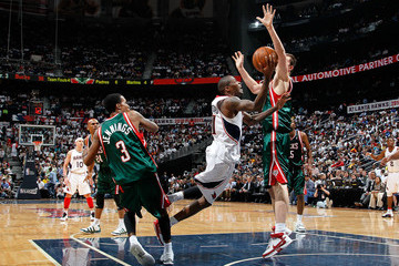 Primoz Brezec Milwaukee Bucks v Atlanta Hawks, Game 5