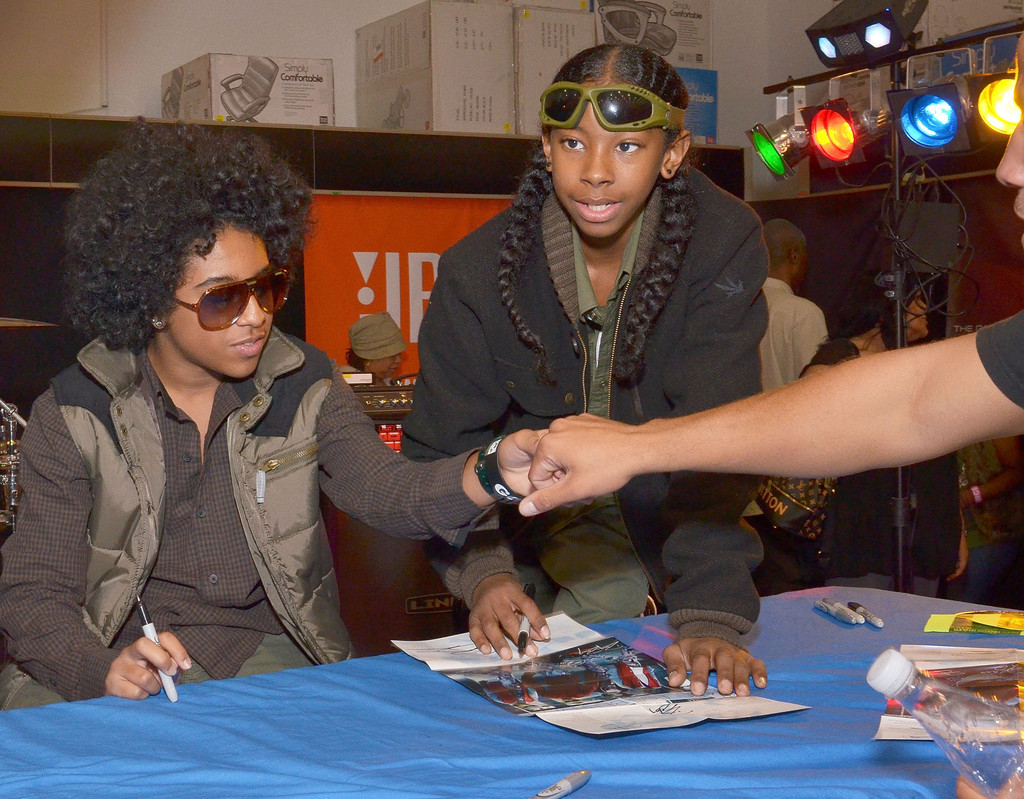 Ray Ray And Princeton Photos Photos Mindless Behavior Celebrates