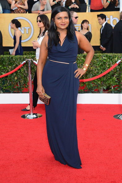 Mindy Kaling - 20th Annual Screen Actors Guild Awards - Arrivals