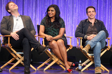 Mindy Kaling Chris Messina 'The Mindy Project' Honored at PaleyFest