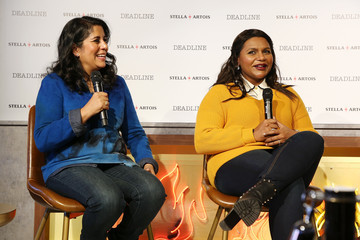 Mindy Kaling Stella Artois & Deadline Sundance Series At Stella's Film Lounge: A Live Q&A With The Filmmakers Of 'Late Night'