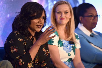 Mindy Kaling Reese Witherspoon 'A Wrinkle In Time' Press Conference