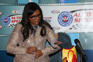Mindy Kaling Auto Club 400