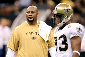 Deuce McAllister Minnesota Vikings v New Orleans Saints