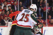Niklas Backstrom and Jonas Brodin Photos Photo