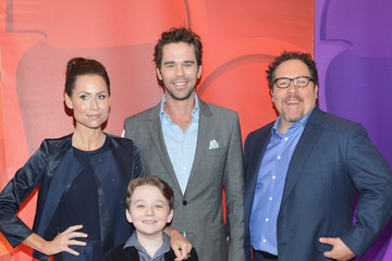 Minnie Driver Benjamin Stockham Red Carpet at the NBC Upfront Event in NYC