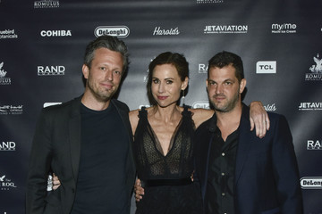 Minnie Driver Reception For 'GULLY' Featuring Travis Scott During The Tribeca Film Festival