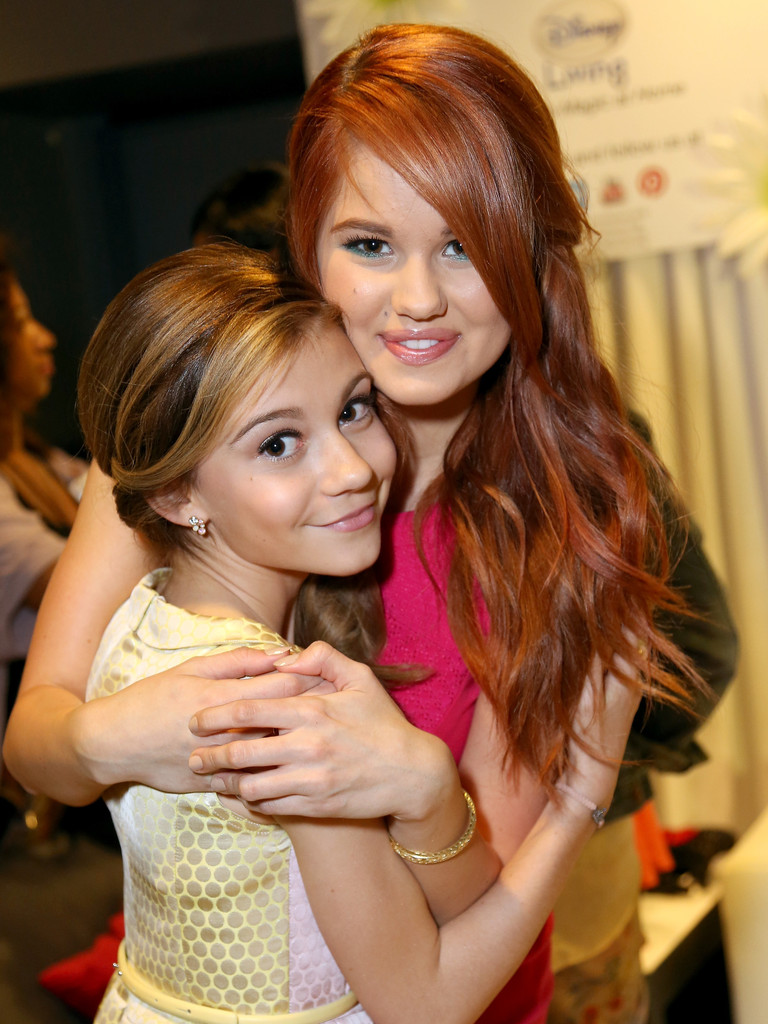 Debby Ryan and Genevieve  G Hannelius And Leo Howard 2013