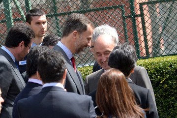 Miquel Roca Prince Felipe Visits Catalonian Hydroelectricity Stations