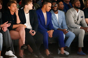Miquita Oliver Day 2 - Front Row - London Collections Men SS16