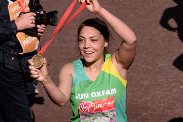 Miquita Oliver Celebrities: London Marathon 2014