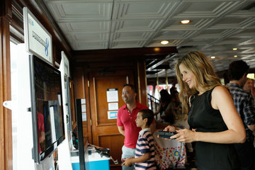 Mira Sorvino Nintendo Lounge On The TV Guide Magazine Yacht At Comic-Con #TVGMYacht - Day 3