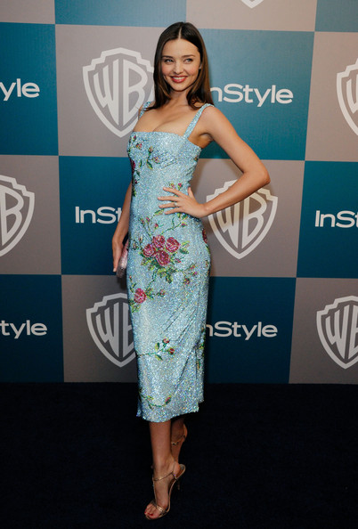 Miranda Kerr Model Miranda Kerr arrives at 13th Annual Warner Bros. And InStyle Golden Globe Awards After Party at The Beverly Hilton hotel on January 15, 2012 in Beverly Hills, California.