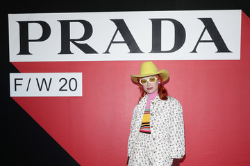 Miranda Makaroff Prada Fall/Winter 2020/2021 Womenswear Fashion Show – Arrivals and Front Row