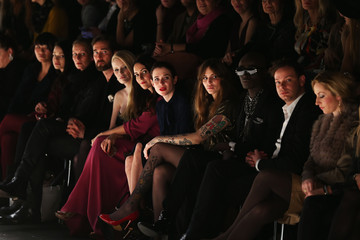 Mirja Du Mont Annina Roescheisen Holy Ghost Arrivals - Mercedes-Benz Fashion Week Autumn/Winter 2013/14