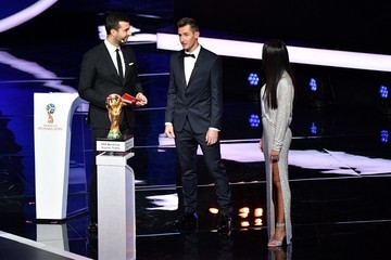 Miroslav Klose Final Draw for the 2018 FIFA World Cup Russia