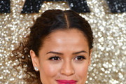 """Gugu Mbatha-Raw attends the """"Misbehaviour"""" World Premiere at The Ham Yard Hotel on March 09, 2020 in London, England."""